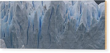 The Glacier Up Close Wood Print
