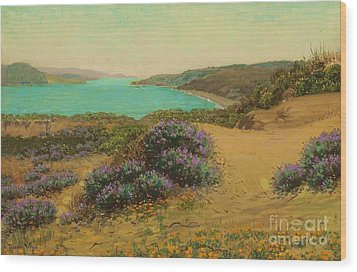 The Golden Gate Of San Francisco Wood Print by Pg Reproductions