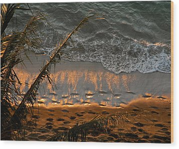 The Golden Moment IIi Wood Print by Kirsten Giving