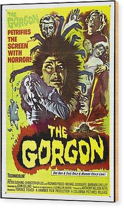 The Gorgon, Prudence Hyman Wood Print by Everett