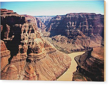 The Grand Canyon Wood Print by Photographed by Victoria Phipps ©