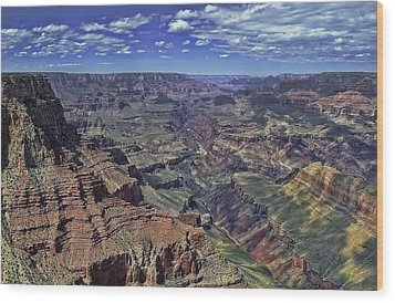 Wood Print featuring the photograph The Grand Canyon by Renee Hardison