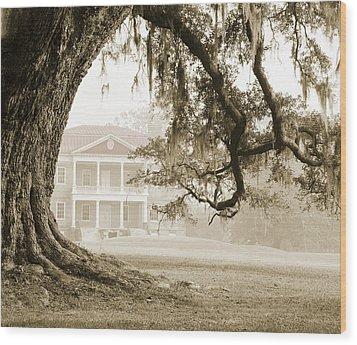 The Guardian Tree Wood Print