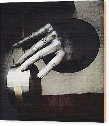 The Hand Wood Print by Natasha Marco