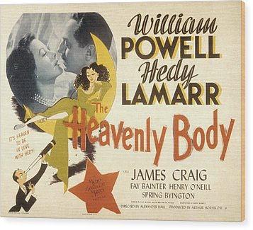 The Heavenly Body, Hedy Lamarr, William Wood Print by Everett