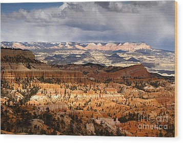 The High Desert Bryce Canyon Wood Print by Butch Lombardi