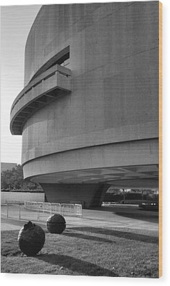 The Hirshhorn Museum I Wood Print by Steven Ainsworth