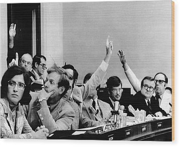 The House Judiciary Committee. The Wood Print by Everett