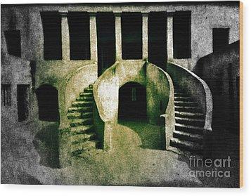 The House Of Slaves Wood Print by Fania Simon