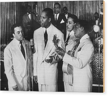 The Ink Spots, C1945 Wood Print by Granger