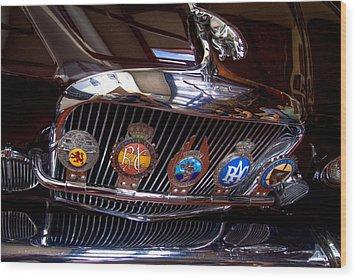The Jaguar Wood Print by David Patterson