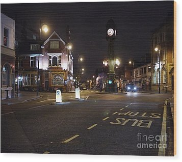 The Jewellery Quarter Wood Print by John Chatterley
