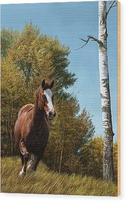 The Journey Wood Print by Laura Klassen