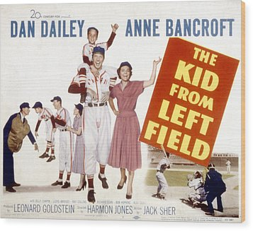 The Kid From Left Field, Dan Dailey Wood Print by Everett