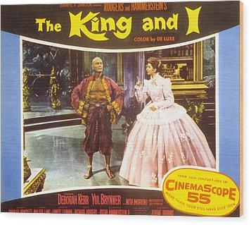The King And I, Yul Brynner, Deborah Wood Print by Everett