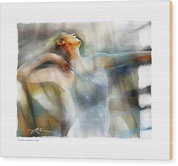 The Last Dance Wood Print by Bob Salo