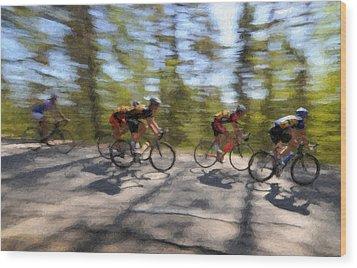 The Leading Group  Wood Print by Ari Salmela