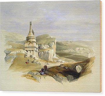 The Legendary Tomb Of David Son Wood Print by Munir Alawi
