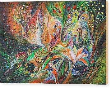 The Light And Wind Wood Print by Elena Kotliarker