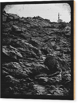 Wood Print featuring the photograph The Lighthouse1 by Pedro Cardona
