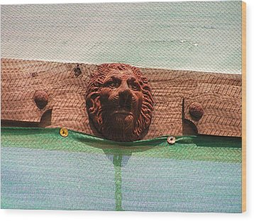 Wood Print featuring the photograph The Lion Of Penasco by Rand Swift