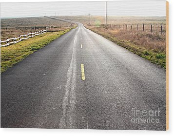 The Long Road Home . 7d9903 Wood Print by Wingsdomain Art and Photography