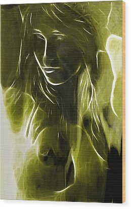 The Look Of Medusa Wood Print by Steve K