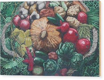 The Lord's Abundance Wood Print by Collin Edler