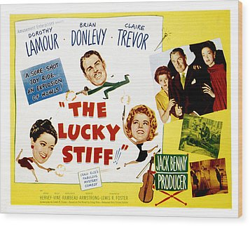 The Lucky Stiff, Brian Donlevy, Dorothy Wood Print by Everett