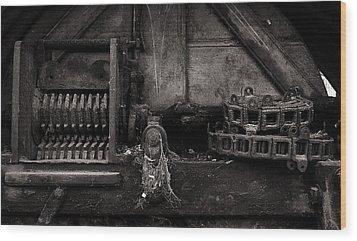 The Machine Wood Print by Tim Nichols