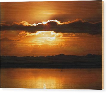 The Magic Of Morning Wood Print by Karen Wiles