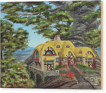 The Manor Cottage From Arboregal Wood Print