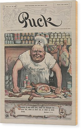 The Meat Market A 1906 Cartoon By Carl Wood Print by Everett