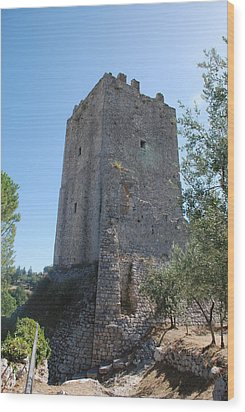 The Medieval Tower Wood Print by Dany Lison