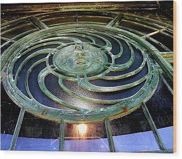 The Medusa Windows Wood Print by William Walker