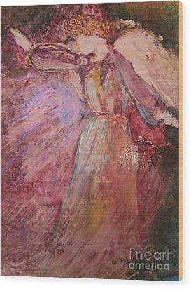 The Messenger Wood Print by Deborah Nell