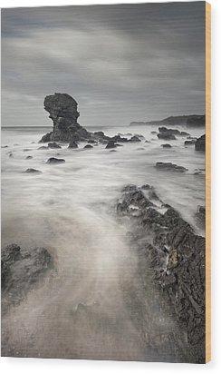 The Milky Sea Wood Print by Andy Astbury