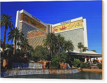 The Mirage Wood Print