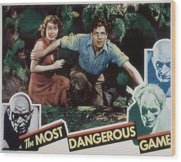 The Most Dangerous Game, Fay Wray, Joel Wood Print by Everett