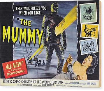 The Mummy, As The Mummy Christopher Wood Print by Everett