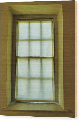 The Mustard Window Wood Print by Steve Taylor