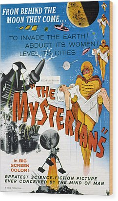 The Mysterians, 1959 Wood Print by Everett