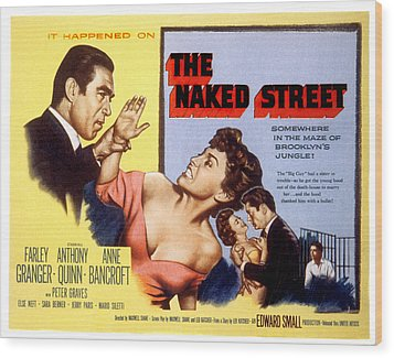 The Naked Street, Anthony Quinn, Anne Wood Print by Everett