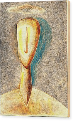 The Nameless And Faceless Wood Print by Al Goldfarb