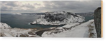 The Narrows - St. John's Harbour Wood Print by Max Buchheit Photography
