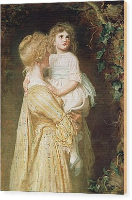 The Nest Wood Print by Sir John Everett Millais
