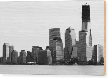 Wood Print featuring the photograph The New Skyline  by Raymond Earley