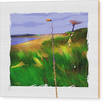 The North Shore Wood Print by Bob Salo