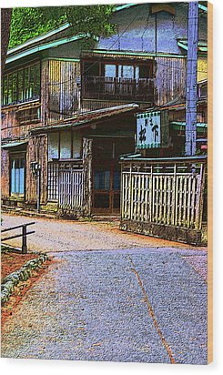 Wood Print featuring the photograph The Old Inn by Tim Ernst