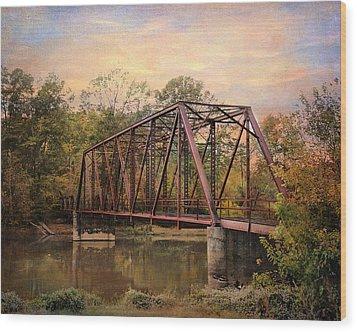 The Old Iron Bridge Wood Print by Jai Johnson
